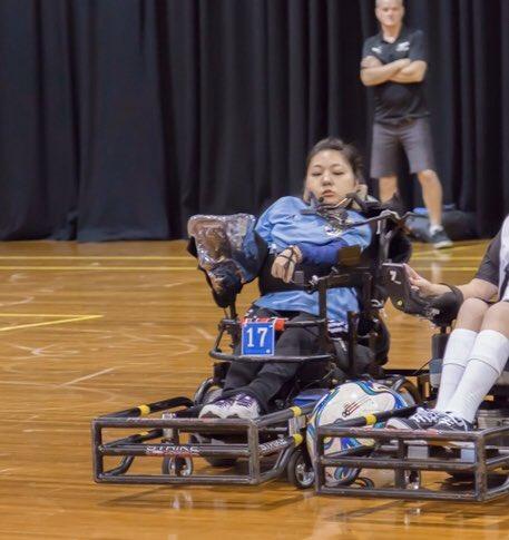 永岡真理 #電動車椅子サッカー をもっとメジャーに さんのブルーフォト