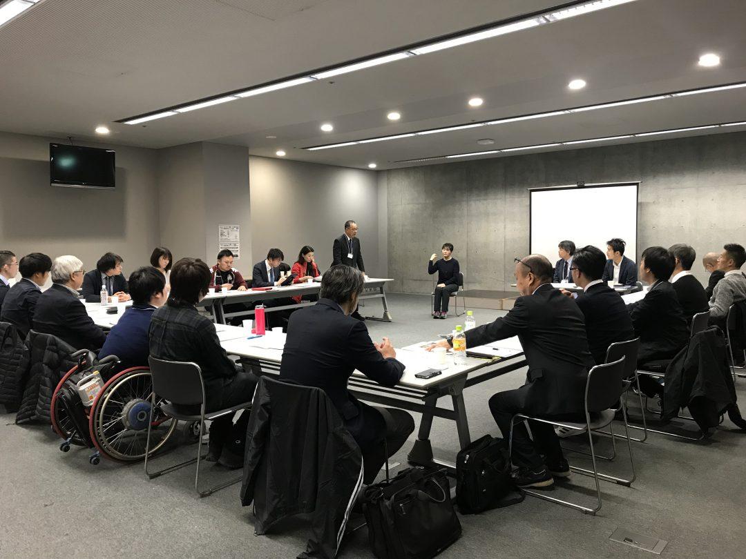 北海道での地域連携会議の様子