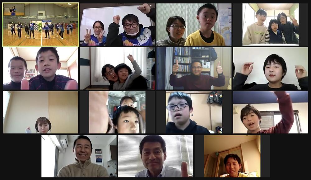 インクルーシブフットボールフェスタ広島2020 オンライン参加者