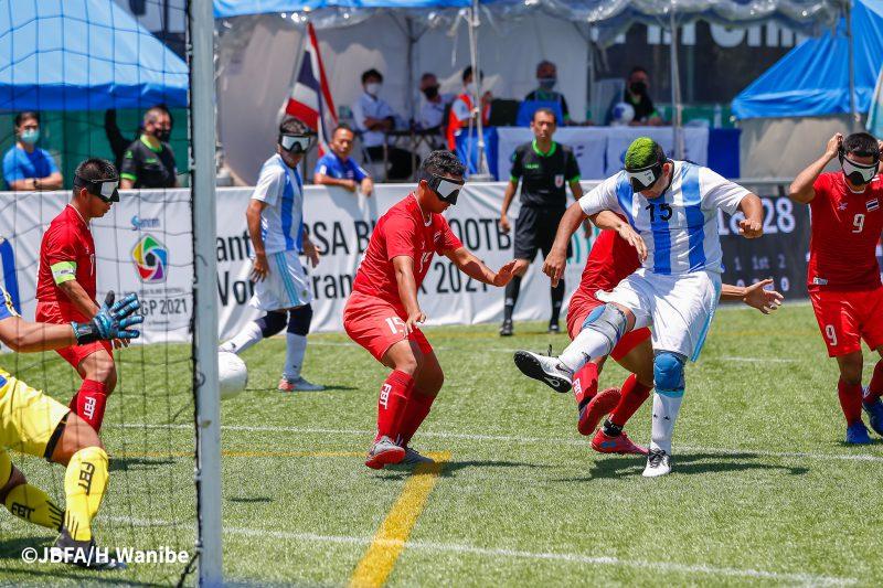 4ゴールを決めたアルゼンチンのマキシミリアーノ選手