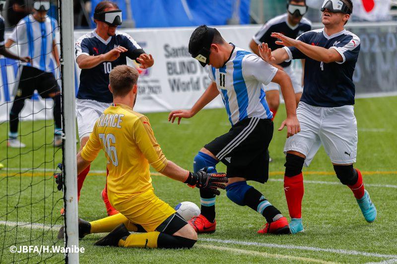 アルゼンチンの11番ファン・イグナシオ・オビエード選手