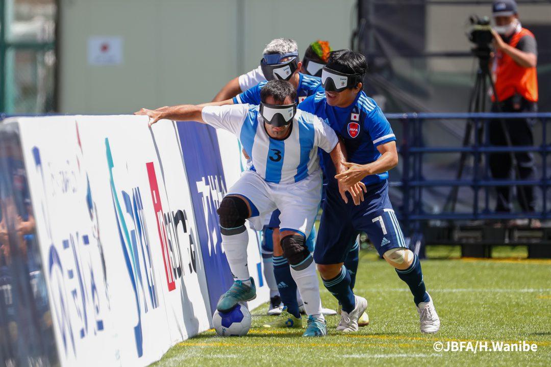 アルゼンチンの攻撃を抑えたディフェンスの要・田中章仁選手
